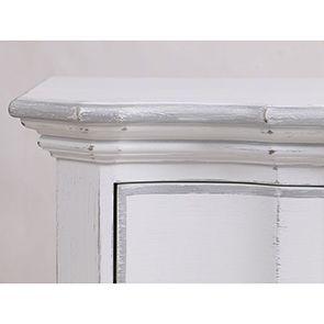 Commode blanche 3 tiroirs en bois - Monceau - Visuel n°10