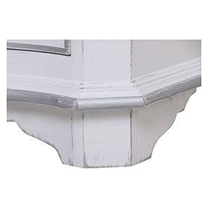 Armoire penderie blanche 2 portes en bois - Monceau - Visuel n°10