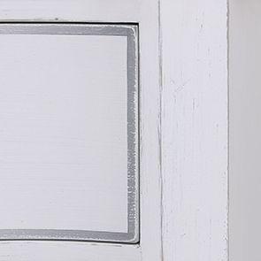 Armoire penderie blanche 2 portes en bois - Monceau - Visuel n°12