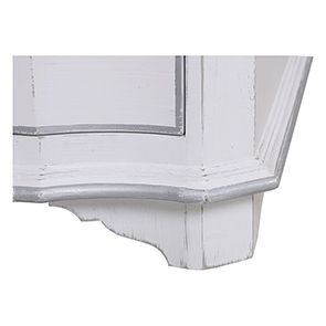 Armoire penderie blanche 2 portes en bois - Monceau - Visuel n°14