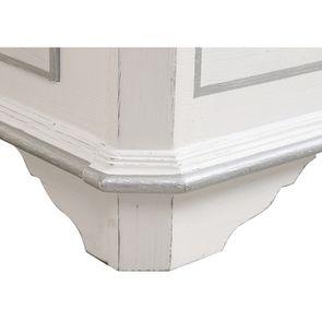 Lit 140x190 avec tiroirs en bois blanc satiné - Monceau - Visuel n°11