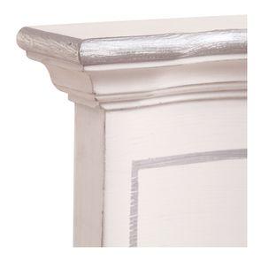 Lit 140x190 avec tiroirs en bois blanc satiné - Monceau - Visuel n°13