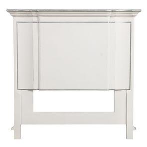 Tête de lit 90 cm en bois blanc satiné - Monceau