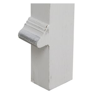 Tête de lit 140/160 cm blanc satiné - Monceau