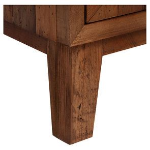 Commode 3 tiroirs en bois recyclé - Empreintes - Visuel n°10
