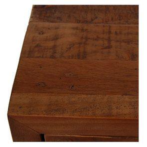 Commode 3 tiroirs en bois recyclé - Empreintes - Visuel n°11