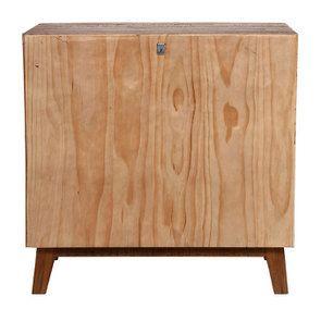 Commode 3 tiroirs en bois recyclé - Empreintes - Visuel n°9