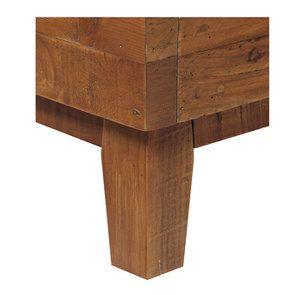 Lit 140x190 en bois recyclé - Empreintes - Visuel n°8