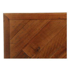 Lit 140x190 en bois recyclé - Empreintes - Visuel n°10