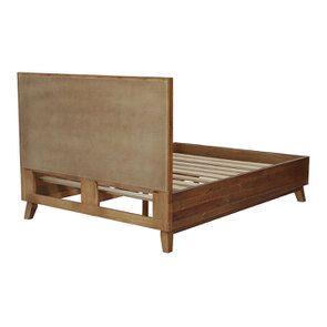 Lit 140x190 en bois recyclé - Empreintes - Visuel n°6