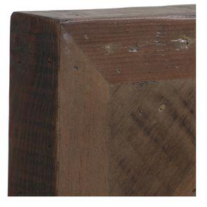 Lit 140x190 en bois recyclé naturel grisé - Empreintes - Visuel n°7