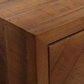 Table de chevet en bois recyclé - Empreintes - Visuel n°15