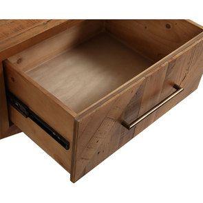 Table de chevet en bois recyclé - Empreintes - Visuel n°16