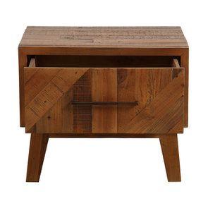 Table de chevet en bois recyclé - Empreintes - Visuel n°7