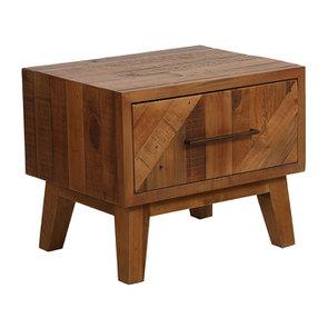 Table de chevet en bois recyclé - Empreintes - Visuel n°9