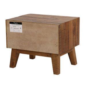 Table de chevet en bois recyclé - Empreintes - Visuel n°11