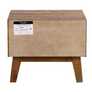 Table de chevet en bois recyclé - Empreintes - Visuel n°12