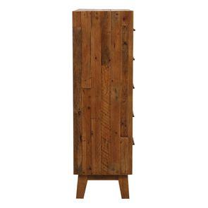 Commode chiffonnier en bois recyclé - Empreintes - Visuel n°7