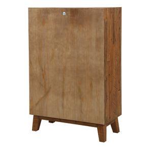 Commode chiffonnier en bois recyclé - Empreintes - Visuel n°8