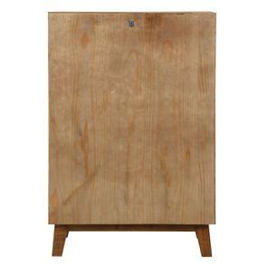 Commode chiffonnier en bois recyclé - Empreintes - Visuel n°9