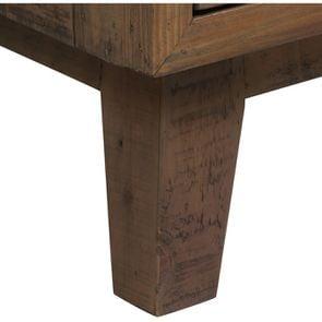 Commode chiffonnier en bois recyclé naturel grisé - Empreintes - Visuel n°8