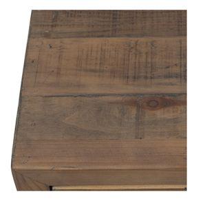 Commode chiffonnier en bois recyclé naturel grisé - Empreintes - Visuel n°9