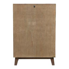 Commode chiffonnier en bois recyclé naturel grisé - Empreintes - Visuel n°7