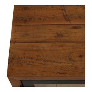 Meuble TV en bois recyclé - Empreintes - Visuel n°10