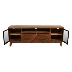 Meuble TV en bois recyclé - Empreintes - Visuel n°3