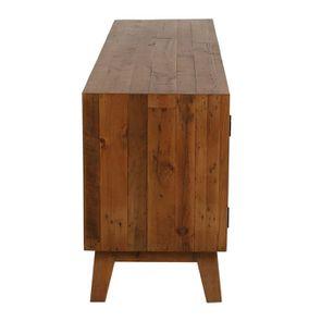 Meuble TV en bois recyclé - Empreintes - Visuel n°6