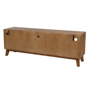 Meuble TV en bois recyclé - Empreintes - Visuel n°7