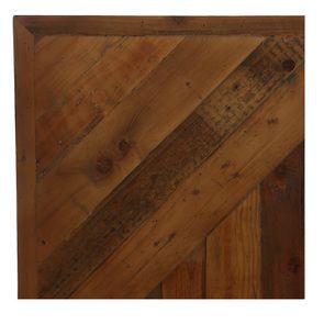 Lit 160x200 en bois recyclé - Empreintes - Visuel n°11