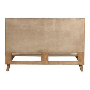 Lit 160x200 en bois recyclé - Empreintes - Visuel n°8