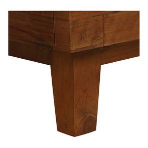 Lit 180x200 en bois recyclé - Empreintes - Visuel n°9