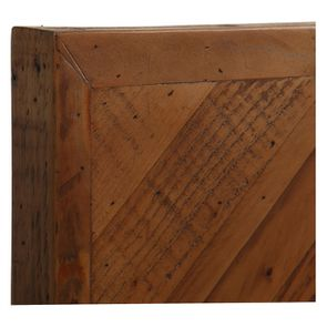 Lit 180x200 en bois recyclé - Empreintes - Visuel n°10