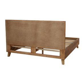 Lit 180x200 en bois recyclé - Empreintes - Visuel n°7