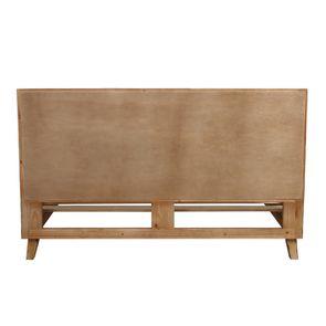 Lit 180x200 en bois recyclé - Empreintes - Visuel n°8