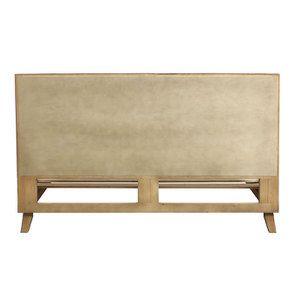 Lit 180x200 en bois recyclé naturel grisé - Empreintes - Visuel n°5