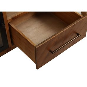 Meuble TV en bois recyclé 1 tiroir - Empreintes - Visuel n°9