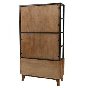 Bibliothèque en bois recyclé - Empreintes - Visuel n°6