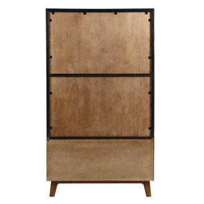 Bibliothèque en bois recyclé - Empreintes - Visuel n°7