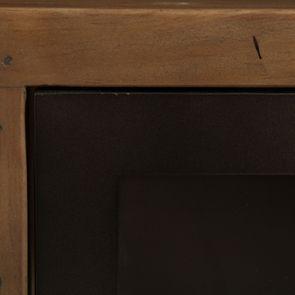 Bibliothèque en bois recyclé naturel grisé - Empreintes - Visuel n°9