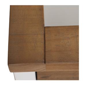 Meuble pour évier en bois recyclé blanc - Rivages - Visuel n°13