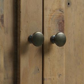 Meuble pour évier en bois recyclé blanc - Rivages - Visuel n°16