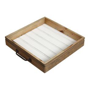 Îlot central en bois recyclé blanc - Rivages - Visuel n°20