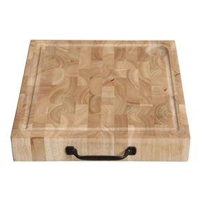 Îlot central en bois recyclé blanc - Rivages - Visuel n°22