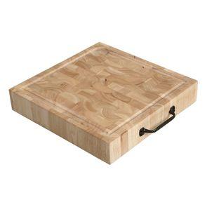 Îlot central en bois recyclé blanc - Rivages - Visuel n°23