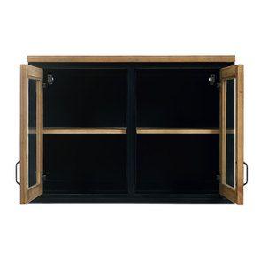 Meuble de cuisine haut 2 portes vitrées - Visuel n°2
