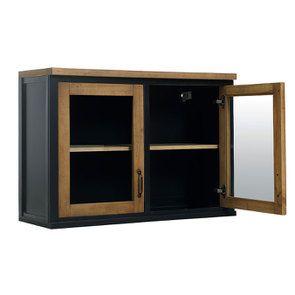 Meuble de cuisine haut 2 portes vitrées - Visuel n°3