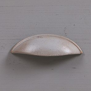 Buffet bas de cuisine 3 portes en pin gris perle vieilli - Brocante - Visuel n°12